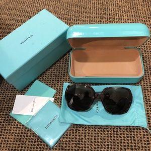 Tiffany Crystal Sunglasses (Worn only a few times)